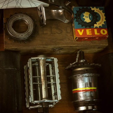 The workshop is full of small corners like this